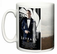Dirty Fingers Mug, Daniel Craig James Bond Skyfall, Film Design Poster