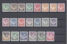 NORTHERN RHODESIA 1938-52 SG 25/45 MINT Cat £250
