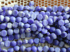500 Vintage Delft Blue White 4mm Nailhead Beads Dome Top ENORMOUS Huge XL Lot!