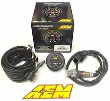 AEM X-Series Wideband UEGO Air/Fuel Ratio Sensor Controller Gauge 30-0300