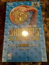 '94-'95 Topps Embossed sealed box!💯💥 Look for Jordan Golden Idols!!💥