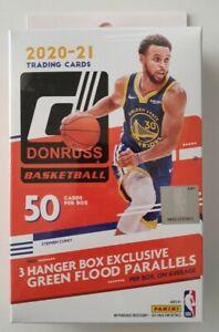 2020/21 Donruss NBA Hanger Box - 50 cards - LeBron, LaMelo, Zion, Curry