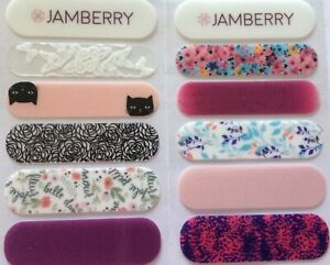 Jamberry Nail Wraps Sample Accent Sheet Spring/Summer 2018 Retired Designs