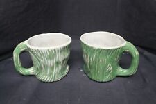 2 Ceramic Anthropologie Patch NYC Mugs -A11