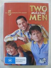 Two and a Half Men The Complete Season 5 R4 DVD 3 Disc Set