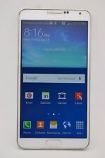 Samsung Galaxy Note 3 SM-N900A 32GB White UNLOCKED GSM AT&T TMOBILE METRO PCS