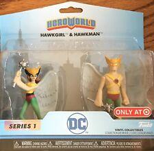 Dc Heroworld Series 1 Hawkgirl & Hawkman Vinyl Figurines