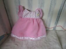 Terri Lee Doll dress pink white