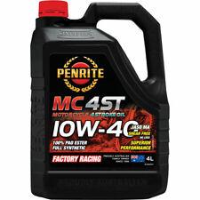 Penrite MC-4ST PAO & Ester Motorcycle Oil 10W-40 4 Litre