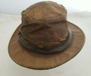 Filson Tin Cloth Packer Hat Custom L Made In USA