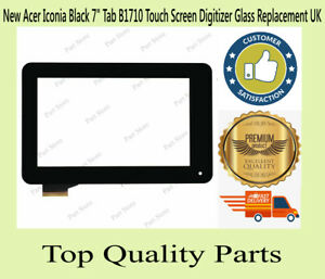 New Acer Iconia Black 7 inch Tab B1710 Touch Screen Digitizer Replacement UK