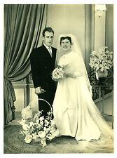 Photo ancienne mariage en noir et blanc