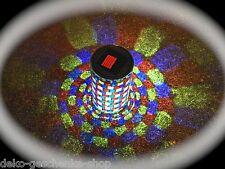 Solar LED Lámpara de jardín mesa Mosaico VASO CRISTAL AUTÉNTICO 15cm 263