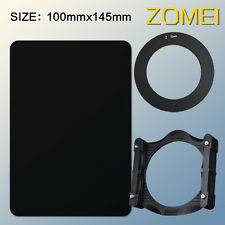 ZOMEI 100mm ND16 Neutral Density Filter+72mm adapter ring+holder For Cokin Z-Pro