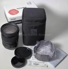 SIGMA 24-105mm f4 DG OS HSM per Canon EF porta * Top obiettivo/Lens!