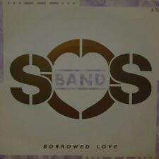 "The SoS Band(7"" Vinyl P/S)Borrowed Love-Tabu-A 7241-UK-Ex+/NM"