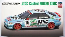 HASEGAWA 1/24 JTCC Castrol Mugen Honda Civic #20308 limited scale model kit