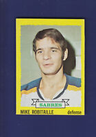 Mike Robitaille 1973-74 TOPPS Hockey #121 (EXMT+) Buffalo Sabres