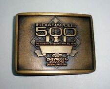1993 INDIANAPOLIS (INDY) 500-CHEVROLET CAMARO PACE CAR Belt Buckle-Fittipaldi