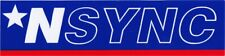 Sticker - N'Sync Logo Star Pop Music Band Justin Timberlake Decal Nsync #13209