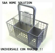 BASKET UNIVERSAL FOR DISHWASHER CUTLERY HOLDER WITH HANDLE. HIGH QUALITY