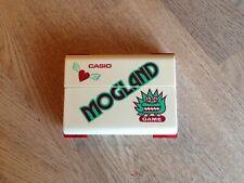 "Lcd game Casio "" Mogland "" game watch CG-60 1983"