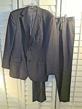 HUGO BOSS 100% Virgin Wool BLACK  Mens 42 L