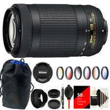 Nikon AF-P DX NIKKOR 70-300mm f/4.5-6.3G ED VR Lens + Great Value Accessory Kit