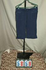 Danskin Blue Capris Pants Womens Size Large 12 14