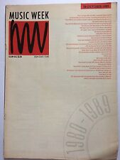 MUSIC WEEK MAGAZINE     OCTOBER 28 1989   THE SYNDICATE  HERE COMES THE DAY   LS