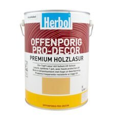 (18,80€/ L)Herbol Offenporig Pro-Decor 5L, seidenglänzend versch. Farben