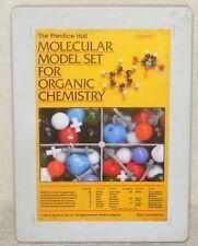 Vintage 1984 Prentice Hall Molecular Model Set For Organic Chemistry Complete