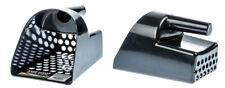Tough Durable Black Plastic Metal Detector Scoop Beach-Sand-Gold-Treasure-Rings