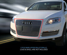 Fits 2007 08 09 2010 2011 2012 Audi Q7 Billet Grille Upper Grill Insert Fedar