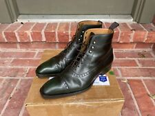 Cobbler Union Gullimere Balmoral Boots in Hunter Green size 9.5D Made in Spain