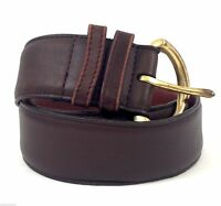 Vintage COACH Brown Glove-Tanned Cowhide Leather Women's Belt Sz. SMALL #8500