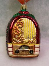 Slavic Treasures Retired Glass Ornament - Wireless