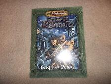 Kingdoms of Kalamar Perils of Pekal D&D D20