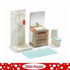 Djeco Modern Doll House Furniture Set - The Bathroom