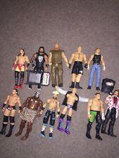 WWE Mattel Wrestling Figures BULK LOT  X 11