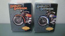 Harley Davidson Historical Motorcycles 1903-1950 2 Decks Playing Cards NOS