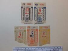 "Hong Kong ""The KMB Co. (1933) Ltd."" 25c - 80c Ticket ADL5959-AQG7868"
