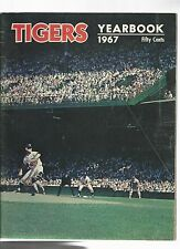 Original   1967  Detroit Tiger Yearbook   Excellent condition