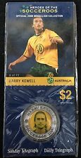 2006 Soceroos Official Medallion Collection Harry Kewell 8/15 Sunday Telegraph