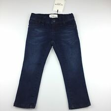 Girls size 2, Country Road, dark denim skinny leg jeans, adjustable waist,