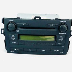 Panasonic Car Stereo Toyota Matrix CD Radio Toyota CQ-ES7762X 86120-02770 2008