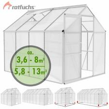 ROTFUCHS® Gewächshaus Treibhaus Alu Gewächshaus Tomatenhaus Fundament Optional
