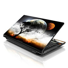 "17.3"" 18"" 19"" Laptop Notebook Skin Sticker Protective Decal Earth Moon L-A73"
