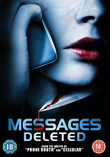DVD:MESSAGES DELETED - NEW Region 2 UK 35