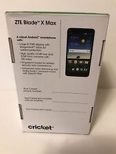 ZTE BLADE X MAX  (32G) - CRICKET NEW IN BOX SEALED